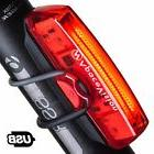 Apace Vision USB Rechargeable Bike Tail Light - Powerful 100