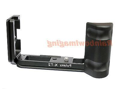 Vertical Grip Holder Arca Quick Release Plate for Fujifilm X