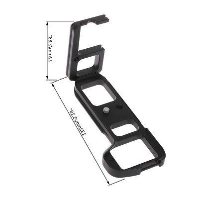 Vertical L-Plate Bracket Grip For Sony A7II A7m2 /