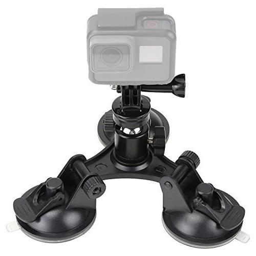 waterproof action suction cup mount