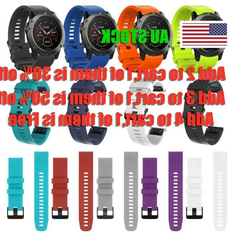 wrist strap watch band silicone quick release