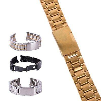 Wrist WatchBand Stainless Steel Quick 20/22/24mm Belt