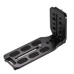 L Shape QR Quick Release Plate Bracket 1/4 Screw for Canon N