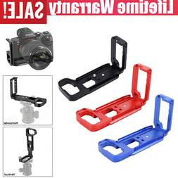 L Type Quick Release Plate Vertical L Bracket Grip for Sony