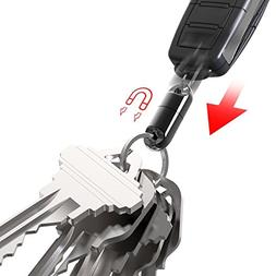 KeySmart MagConnect - Quick, Secure Key Attachment to Bag, P