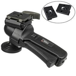 ZAYKIR Manfrotto 322RC2 Grip Action Ball Head Includes Two Q