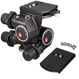 Manfrotto 410 Junior Geared Tripod Head with Quick Release a