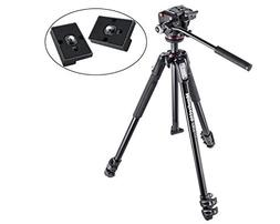 Manfrotto MK190X3-2W 190 Aluminum 3 Section Tripod Kit with