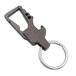 mens bottle opener keychain