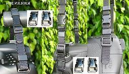 """METAL 3/8"""" 10 mm BUCKLE FOR QUICK RELEASE CAMERA STRAP CANON"""