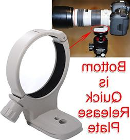 iShoot Metal Lens Support Collar Tripod Mount Ring for Canon