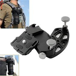 Metal Quick Release Camera Waist Belt Strap Buckle Button Mo