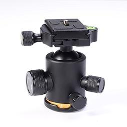 Fotga Metal 360 Degree Swivel Camera Tripod Ball Head Ballhe