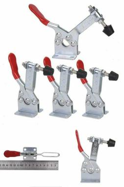 ZXHAO GH-201-B Hold Down Toggle Clamps Latch Antislip 220 Lbs Quick Release Tool 4pcs