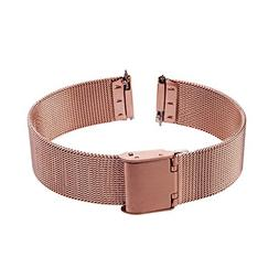 Xuexy 20mm Milanese Stainless Steel Watch Band With Quick Re
