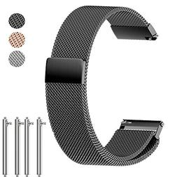 ANMU Milanese Storng Meganetic Replacement Band Quick Releas