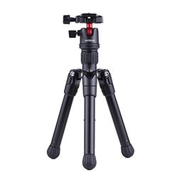 Andoer Mini Tabletop Travel Tripod Stand with Ball Head Quic