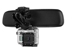 Mirror Mount Action Cam Camera Bracket - Compatible with GoP