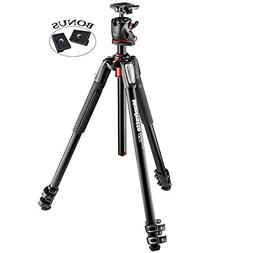 Manfrotto MK055XPRO3-BHQ2 Aluminum 3-Section Tripod with XPR