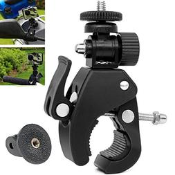 VVHOOY Motorcycle/Bike/Rod Bar Handlebar Clamp Mount with 1/