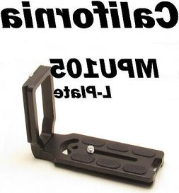 MPU105 Quick Release L Plate as Benro for Nikon D600 D610 D7