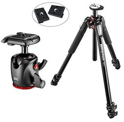 Manfrotto MT055XPRO3 055 Aluminium 3-Section Tripod Kit with