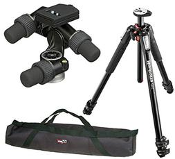 Manfrotto MT055XPRO3 Aluminium 3-Section Tripod kit with 405