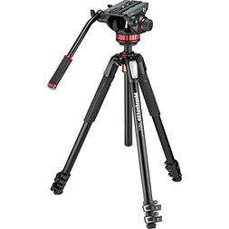 Manfrotto MT055XPRO3 Aluminum Tripod with 502HD Fluid Head H