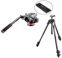 Manfrotto MT190CXPRO3 3 Section Carbon Fiber Tripod Kit with