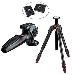 Manfrotto MT190GOA4TB 190 Go! Aluminum 4 Section Tripod Kit
