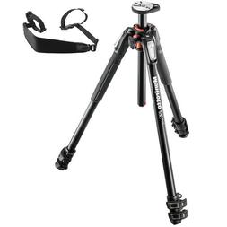 Manfrotto MT190XPRO3 3 Section Aluminum Tripod Legs with Q90