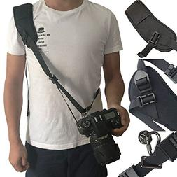 Bwealthest Camera Neck Strap, Neck Shoulder Strap with Quick