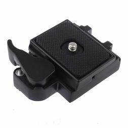 NEW Neewer Camera Tripod Mounting Plate Quick Release Slot S
