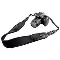 JJC NS-Q2 Extra Wide Comfort Neoprene Neck Strap With Quick