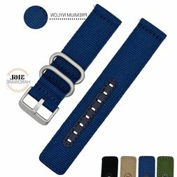 18MM 20MM 22MM Nylon Watch Band Quick Release Military Unive