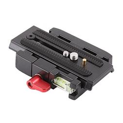 Foto4easy P200 Quick Release QR Plate for Manfrotto 500AH 70