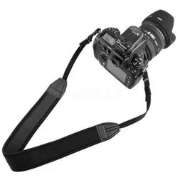 Padded Neck Strap Camera Belt Nylon PU Quick-Release for Sno