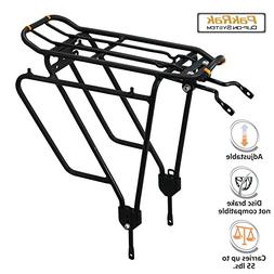 Ibera Bike Rack - Bicycle Touring Carrier Plus+ for Non-Disc