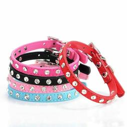 Pets Necklaces Collars Accessories Leather Personalized Jewe