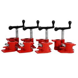 """Woodworking Clamp, 4 Set 3/4"""" Quick Release Heavy Duty Wide"""