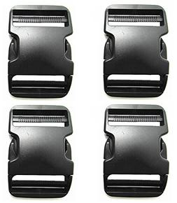 Plastic Buckles 2 Inch - Quick Side Release Buckle Clips for