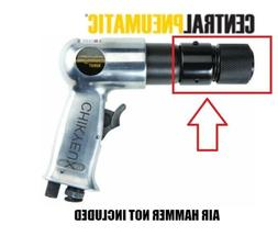 Pneumatic Air Hammer Quick Release Chisel Holder Adapter Con