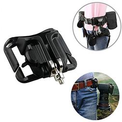 Portable DSLR Camera Waist Belt Buckle, Hard Plastic Waist B