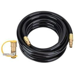 Propane Quick Hose W/1/4in RV Quick Release 12/20Ft Low Pres