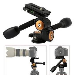 TARION Q80 Professional DSLR Tripod 360° Three-Dimensional