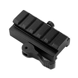 Mizugiwa 5-Slot QD Lever Mount Adaptor and Riser Medium Prof
