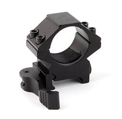 "Uniquefire QD Quick Release 1"" 25.4mm Scope Ring Low Profile"