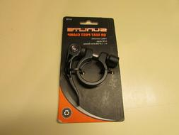 qr seat post clamp 28 6 black
