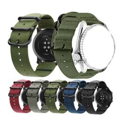 Quick Release 18mm 20mm 22mm Lug Military Woven Nylon Watch