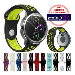 Quick Release 20mm Silicone Sport Watch Bands Strap For Garm